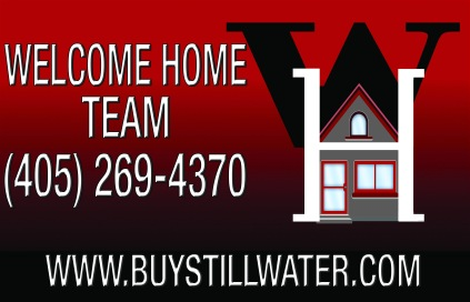 Welcom Home Logo Use red
